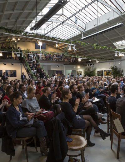 Conférence Le Temps des Marques Responsables organisée par M6 Publicité à l'Espace Commines, 2019. Photo : Etienne Jeanneret.