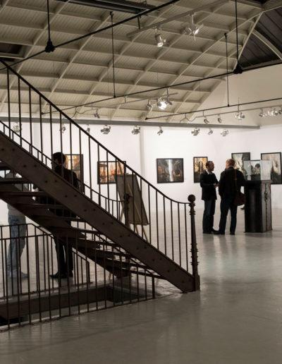 La galerie Daniel Maghen présente une exposition de Didier Graffet à l'Espace Commines en 2016. Photo Romuald Meigneux