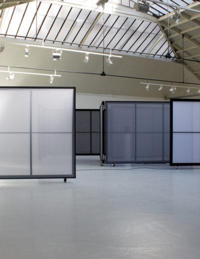 Exposition «Espacements», de Quentin Lefranc, à l'Espace Commines, 2018. Photo : Sophie Guillouart.