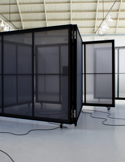 """""""Espacements"""", Quentin Lefranc exhibition. Espace Commines, 2018. Photo: Sophie Guillouart."""