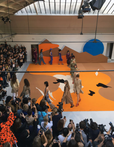 Défilé de mode du créateur Aalto à l'Espace Commines, 2016