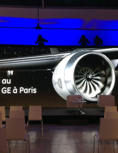 General Electric lance son Fablab, le GE Garages. Espace Commines, 2015.