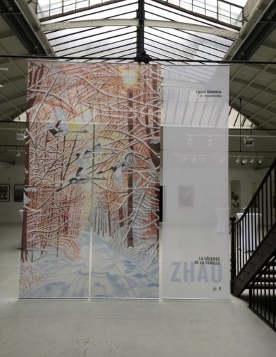 « La légende de la famille Zhao », presented by Munia Culture, Espace Commines, 2018