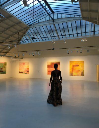 Le temps de peindre, exposition présentée par Monique Frydman, Espace Commines, 2018