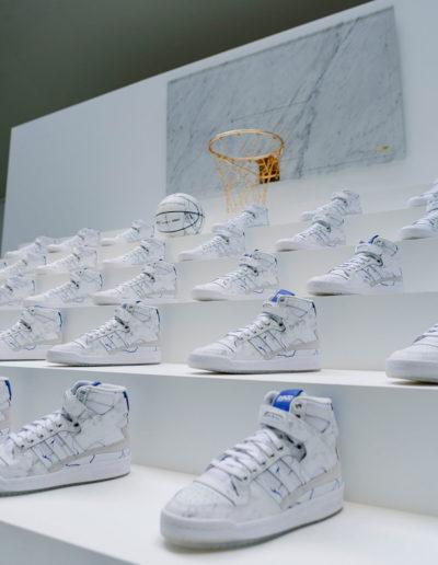Evénement Adidas en partenariat avec Shinzo Paris. Espace Commines, 2021. Photo Guillaume Landry.