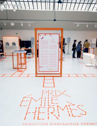 La Fondation d'entreprise Hermès présente les 12 finalistes du prix Émile Hermès 2016 à l'Espace Commines. Photo Olivier Borde © Fondation d'entreprise Herme?s