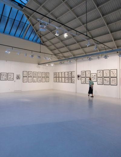 Daniel Maghen Gallery presents William Vance. Espace Commines, 2017. Photo: Romuald Meigneux