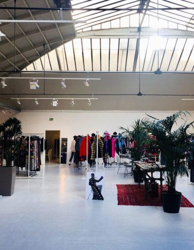 Showroom Instyle, présentation de la collection automne/hiver 2018. Espace Commines, 2018.