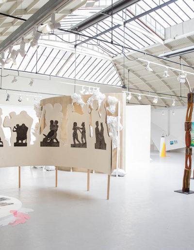 """Exposition anniversaire """"TWENTY five ELEMENTS"""", Espace Commines 2019. Crédit photo :  © Alice Lemarin"""