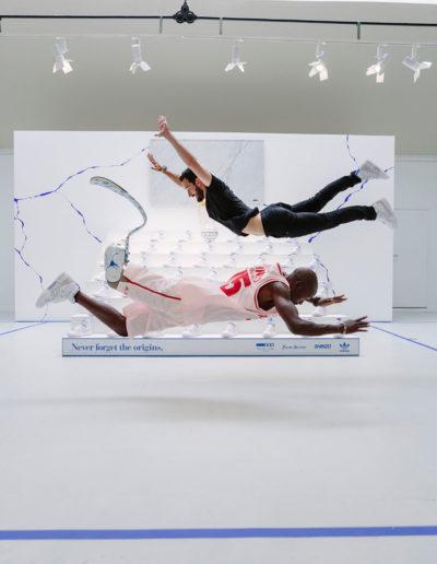 Evénement Adidas en partenariat avec Shinzo Paris. Espace Commines 2021. Photo Guillaume Landry.
